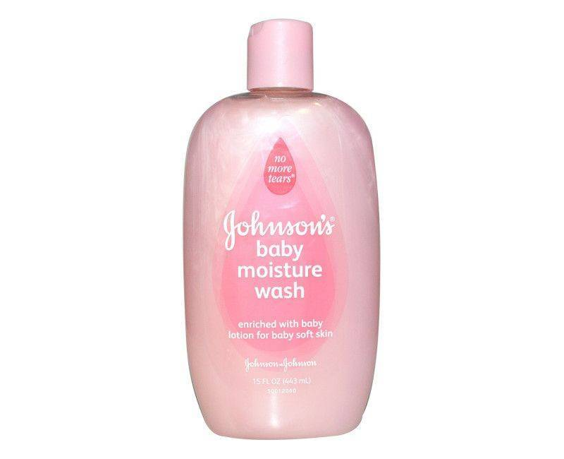Johnson's Baby Moisture Wash 15 FL. OZ.