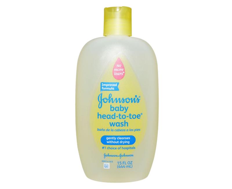 Johnson's Head to Toe Baby Wash 15 FL. OZ.