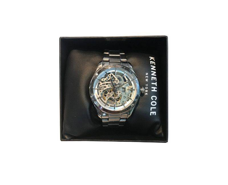 Kenneth Cole New York Skeleton Dial Stainless steel bracelet timepiece