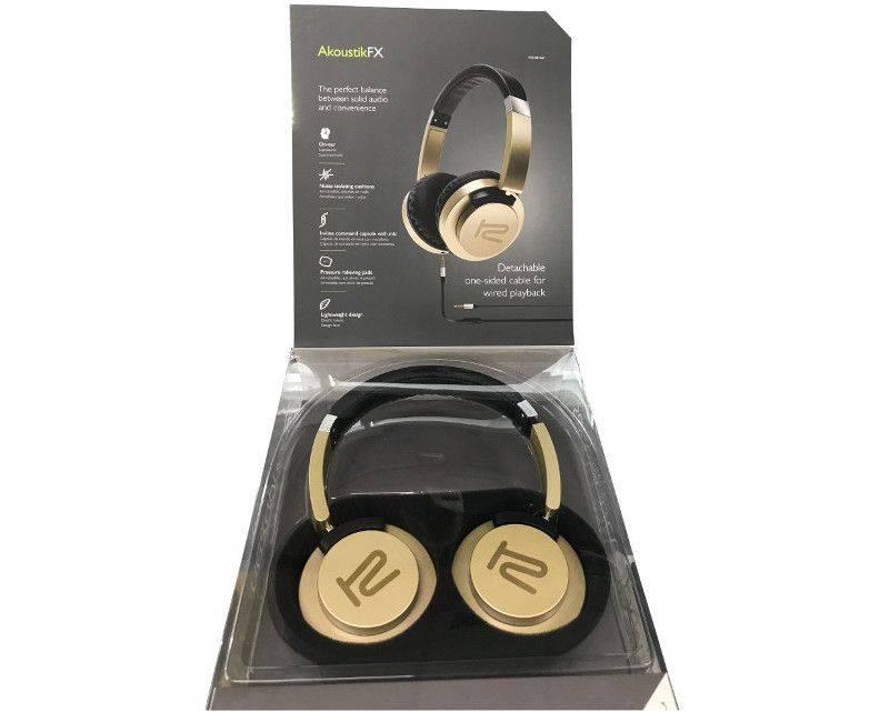 Klip Xtreme KHS-851 Akoustik FX Wireless Noise - Isolating Headphones
