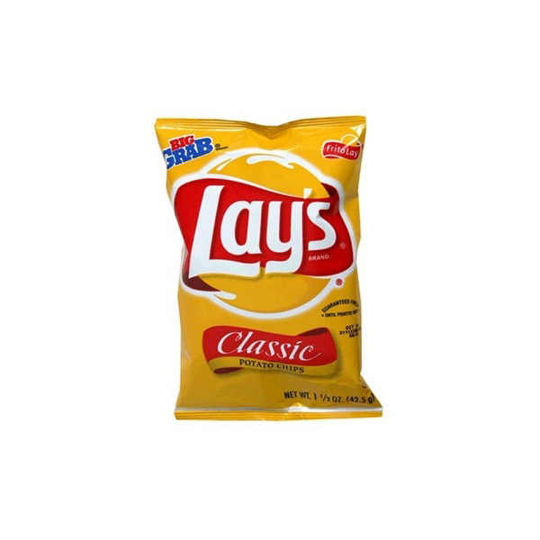 Lays Potato Chips Regular 1oz