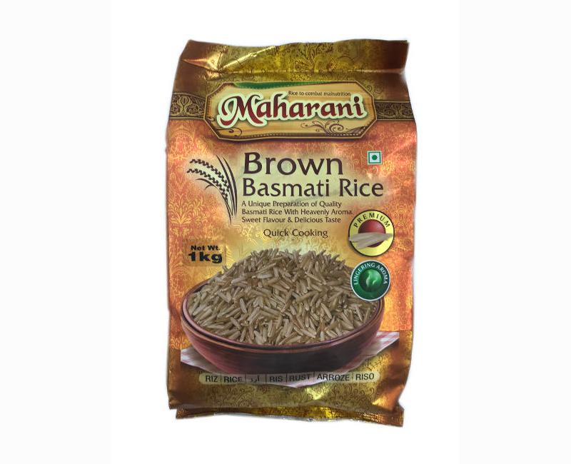Maharani Premium Brown Basmati Rice 1Kg