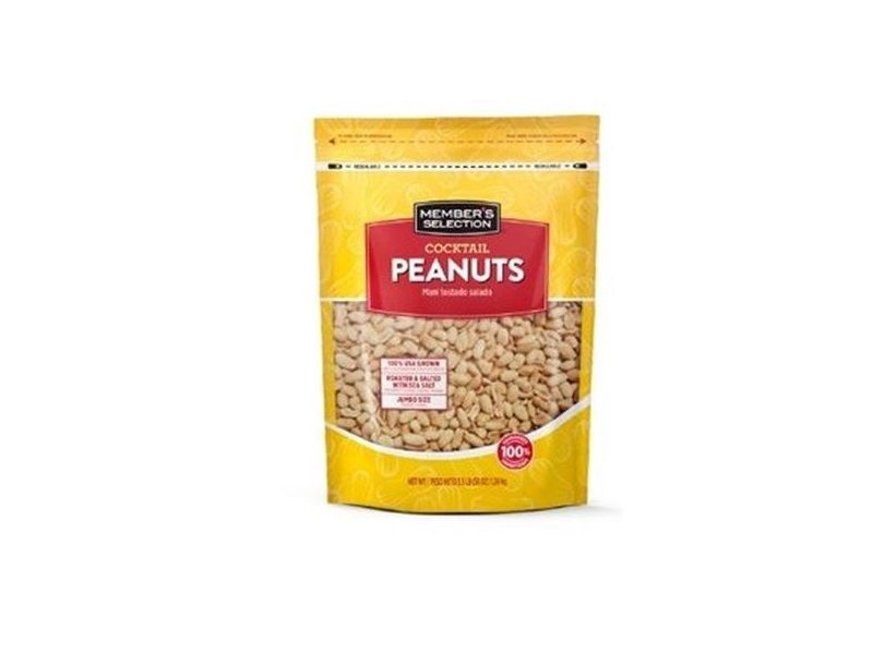 Member's Selection Cocktail Peanuts 56 oz