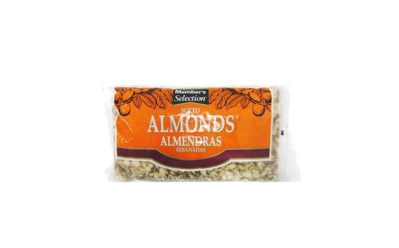 Member's Selection Sliced Almonds 2 lb