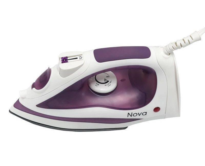Nova Home Appliance Purple Steam Iron