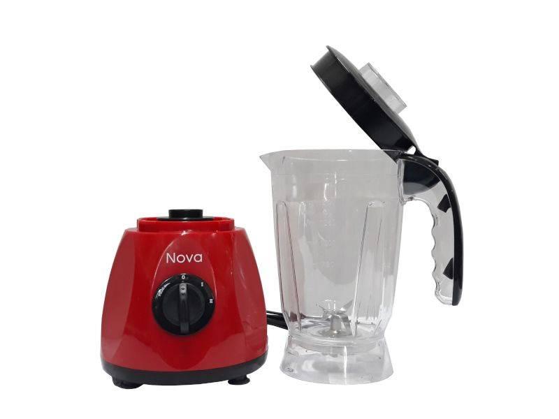 Nova DL3366 Red & Black Food Blender