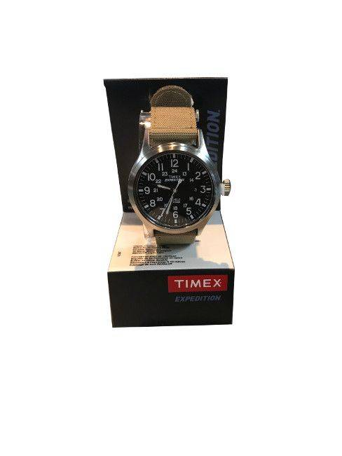 Timex expedition black dial for a sporty look and feel
