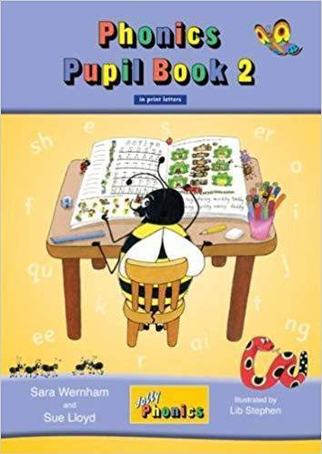 Jolly Phonics Pupil bk 2 in print Letters