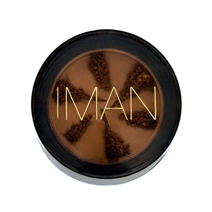 IMAN Loose Powder, Earth Dark
