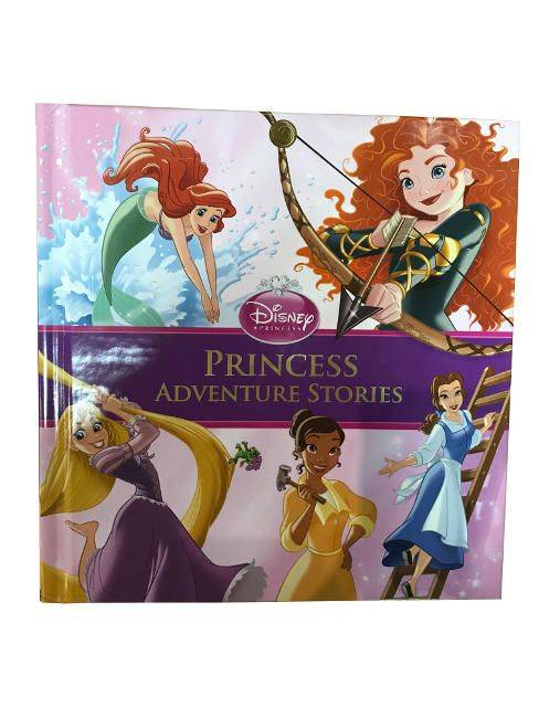 Disney Princess Adventure Stories - For Ages 3 And Up