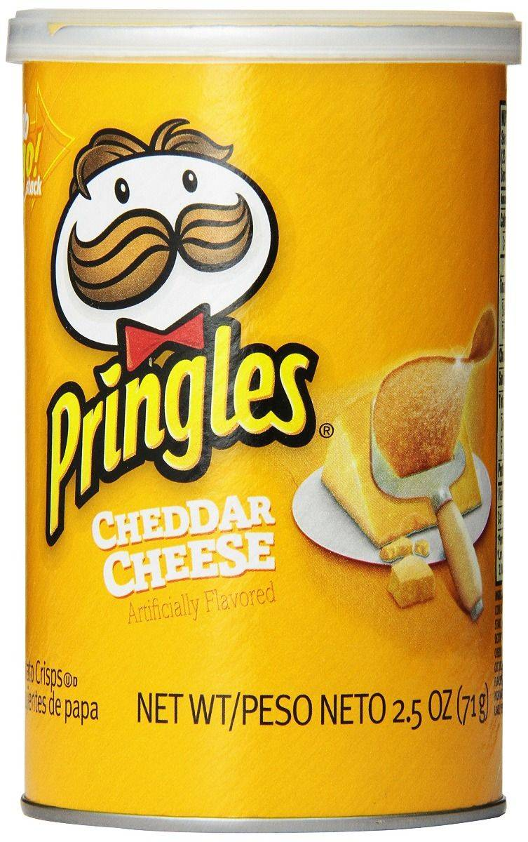 Pringles Cheddar Cheese Potato Crisps 2.5 Oz