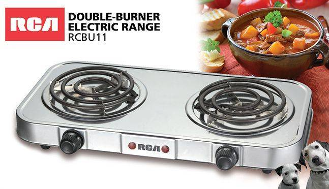 RCA Electric Double Hot Plate