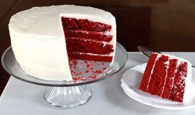 Red Velvet Choc Cake