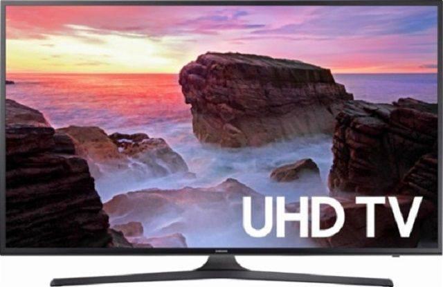 Samsung 65-inch MU6300 Series 4K Ultra HD Smart LED TV