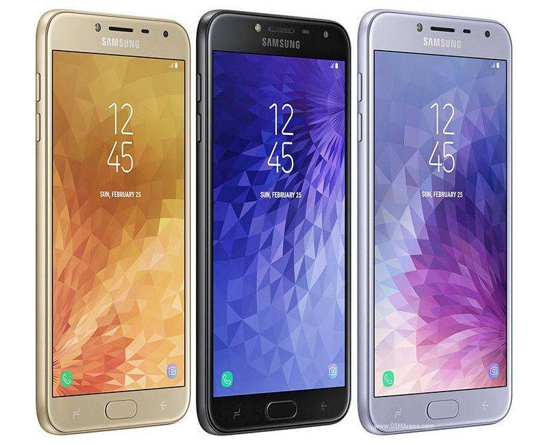 Samsung Galaxy J4 Duos 32GB Unlocked Smartphone Different colours