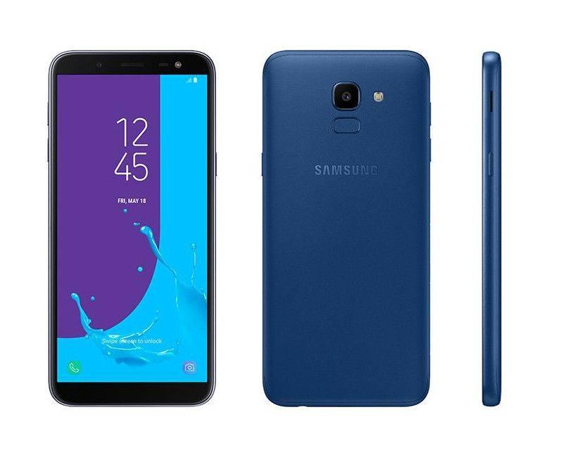 Samsung Galaxy J6 Duos Unlocked Smartphone Blue