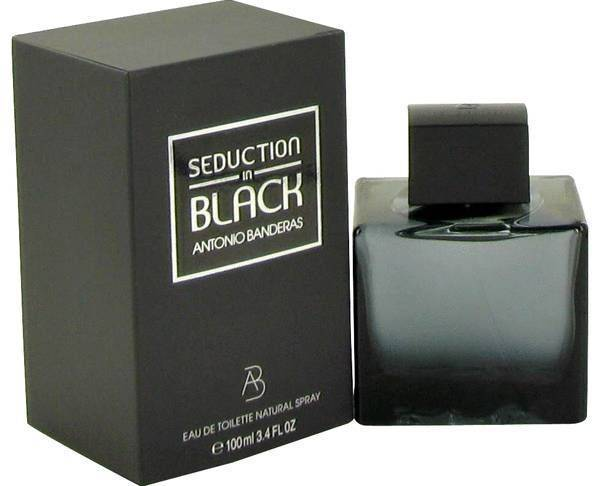 Seduction in Black by Antonio Banderas 100Ml Men's Perfume