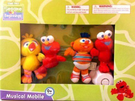Sesame Beginnings Musical Mobile