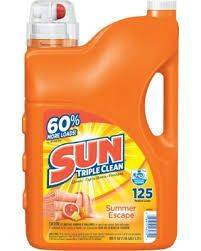 Sun Triple Clean 188oz Laundry Detergent