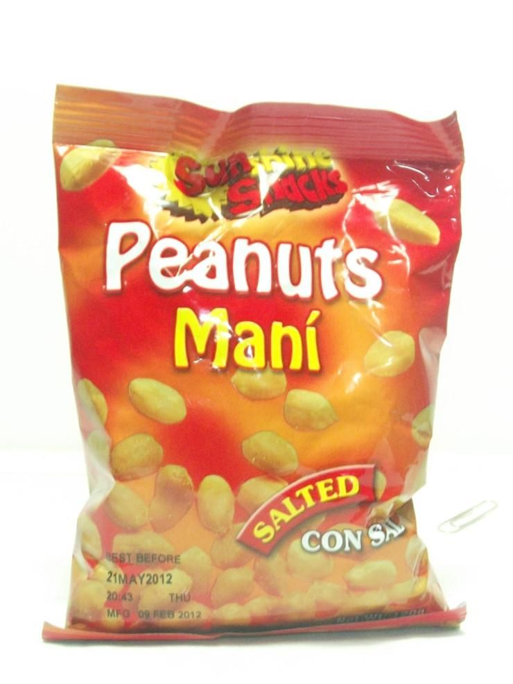 Sunshine 32g Salted Peanuts 24 Pack
