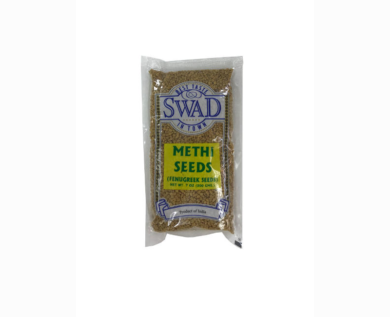 Swad Best Taste In Town Fenugreek Seeds (Methi Seeds) 200 Grams
