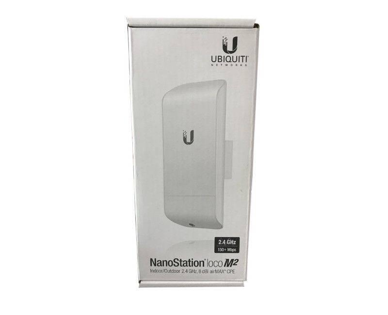 UBIQUITI NanoStation Loco M2 Indoor/Outdoor 2.4 GHz 8dBi airMax CPE