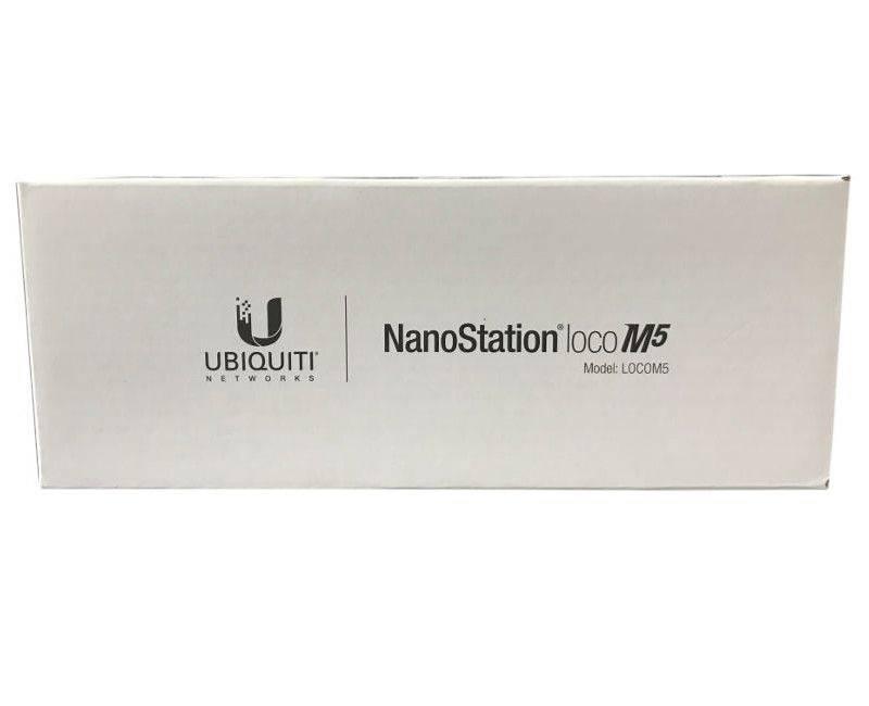 UBIQUITI Networks Indoor / Outdoor NanoStation Loco M5