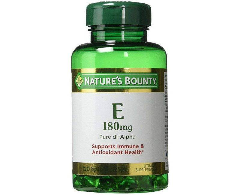 Nature's Bounty Vitamin E 180mg Rapid Release 120 Soft Gels - Vitamin Supplement