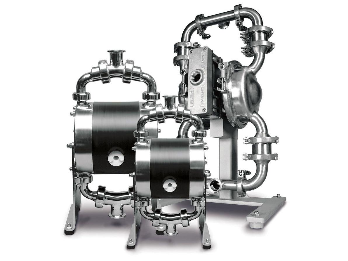 Air Operated Diaphragm Pump - Advantages