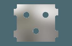 Panel Configuration 3 Port Triangle Down Thumbnail