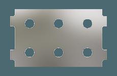 Panel Configuration 6 Port Horizontal Thumbnail