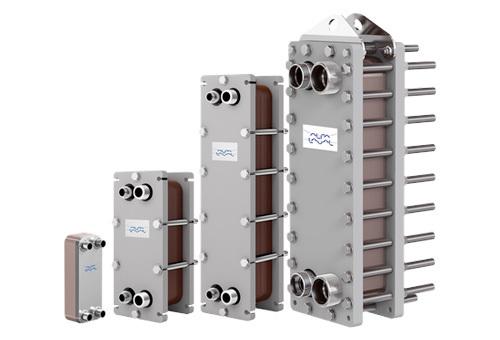 Alfa Laval brazed plate heat exchanger
