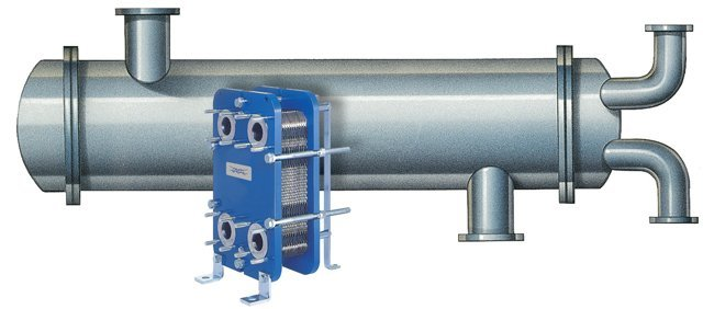 Plate and Frame Heat Exchanger vs Shell and Tube Size