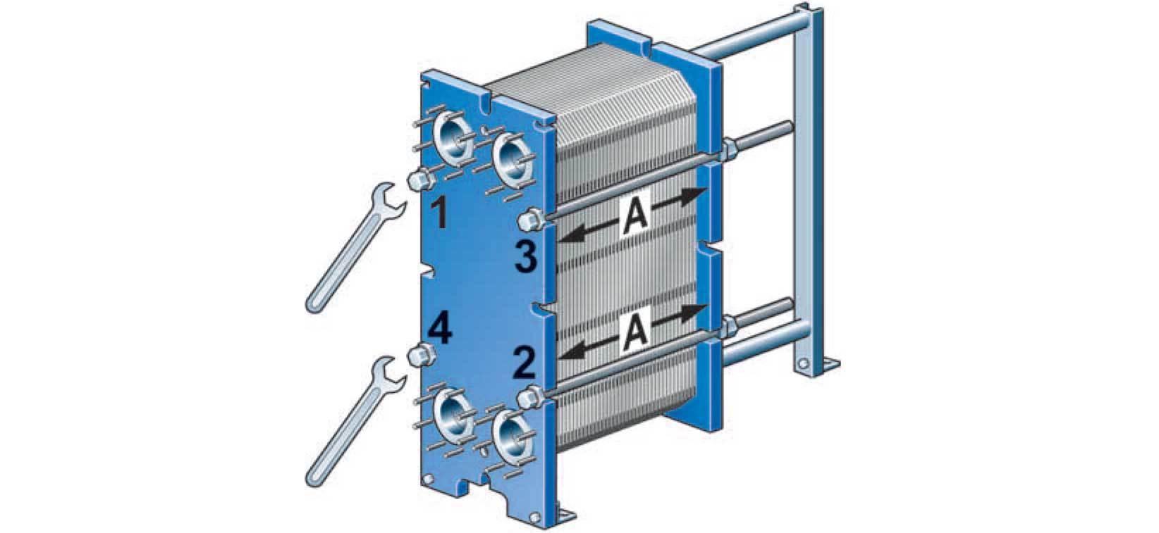 Heat Exchanger Illustration