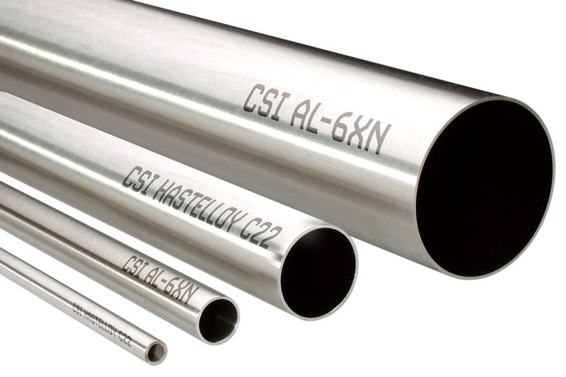 Super Alloys Tubing with Labels