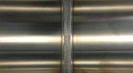 316L (EP) to 316L (EP) weld