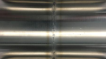 AL-6XN (MP) to AL-6XN (MP) weld