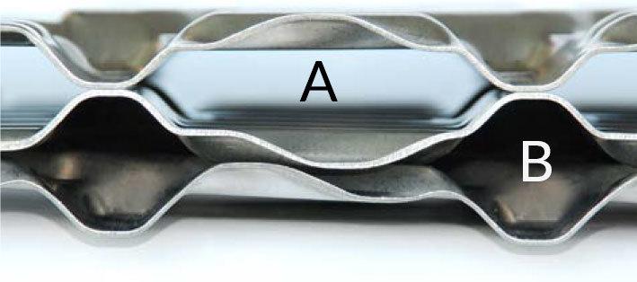 Types of Heat Exchangers - Single Sided WideGap