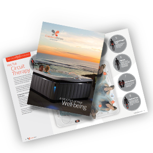 caldera spas hot tub brochure catalogue