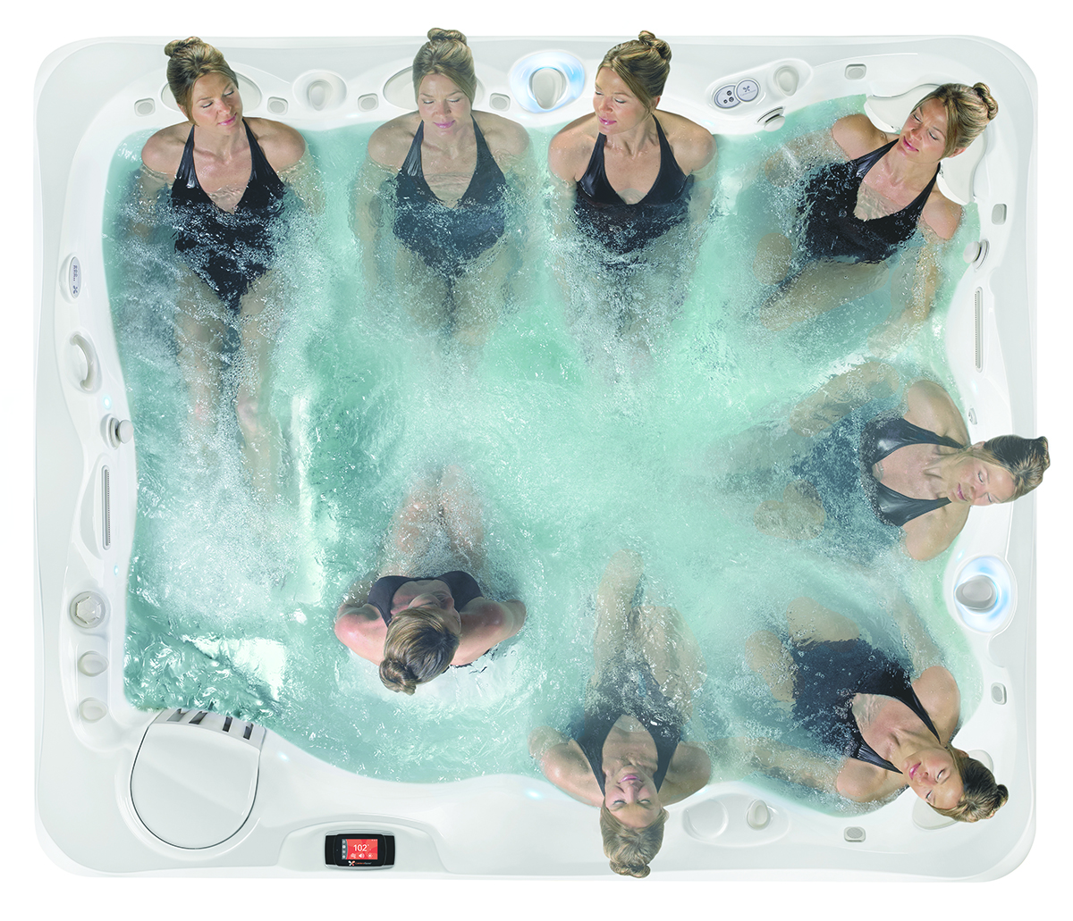 caldera spas hot tub circuit therapy