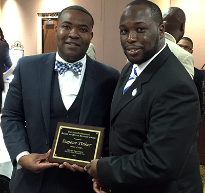 Certified Technical Experts CEO, Mr. Eugene Tinker was once again honored by the Alpha Eta Sigma Chapter of Phi Beta Sigma, Fraternity Incorporated at their annual B.T. Knox Bigger and Better Business Banquet. Mr. Tinker received the 2015 Outstanding Bigger and Better Business Award.
