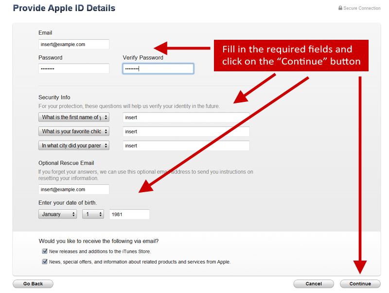How to Create a US iTunes Account