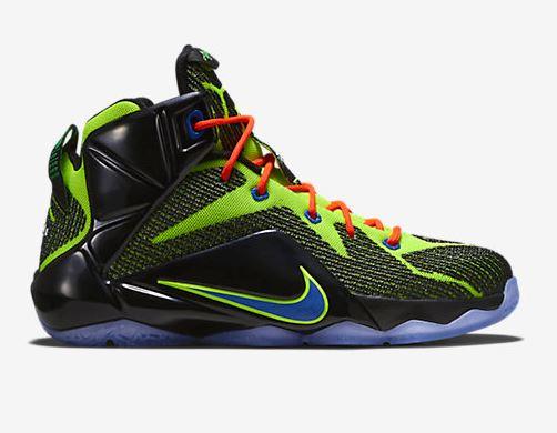Nike Lebron XII Green