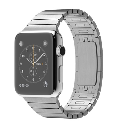 Buy Apple Watch 42mm Stainless Steel Case with Link Bracelet International Shipping