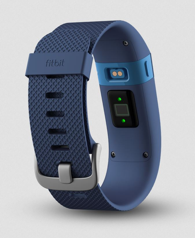 Buy Fitbit Charge HR Blue International Shipping