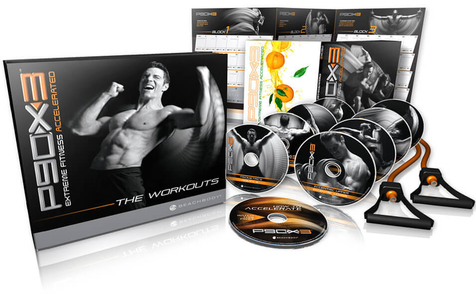 Buy Official TV Fitness P90X3 DVD Package International Shipping