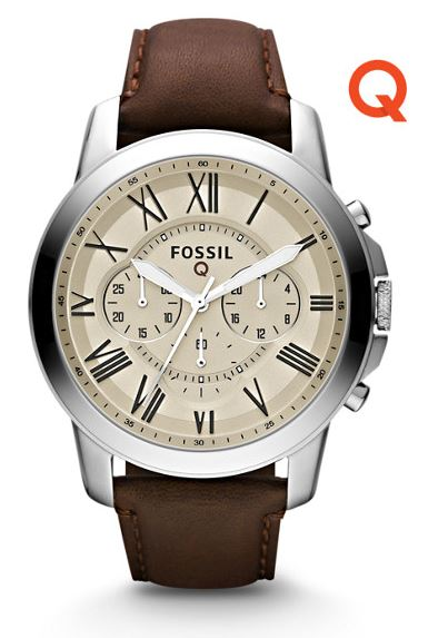 Buy USA Fossil Q Grant Smartwatch Online International Shipping