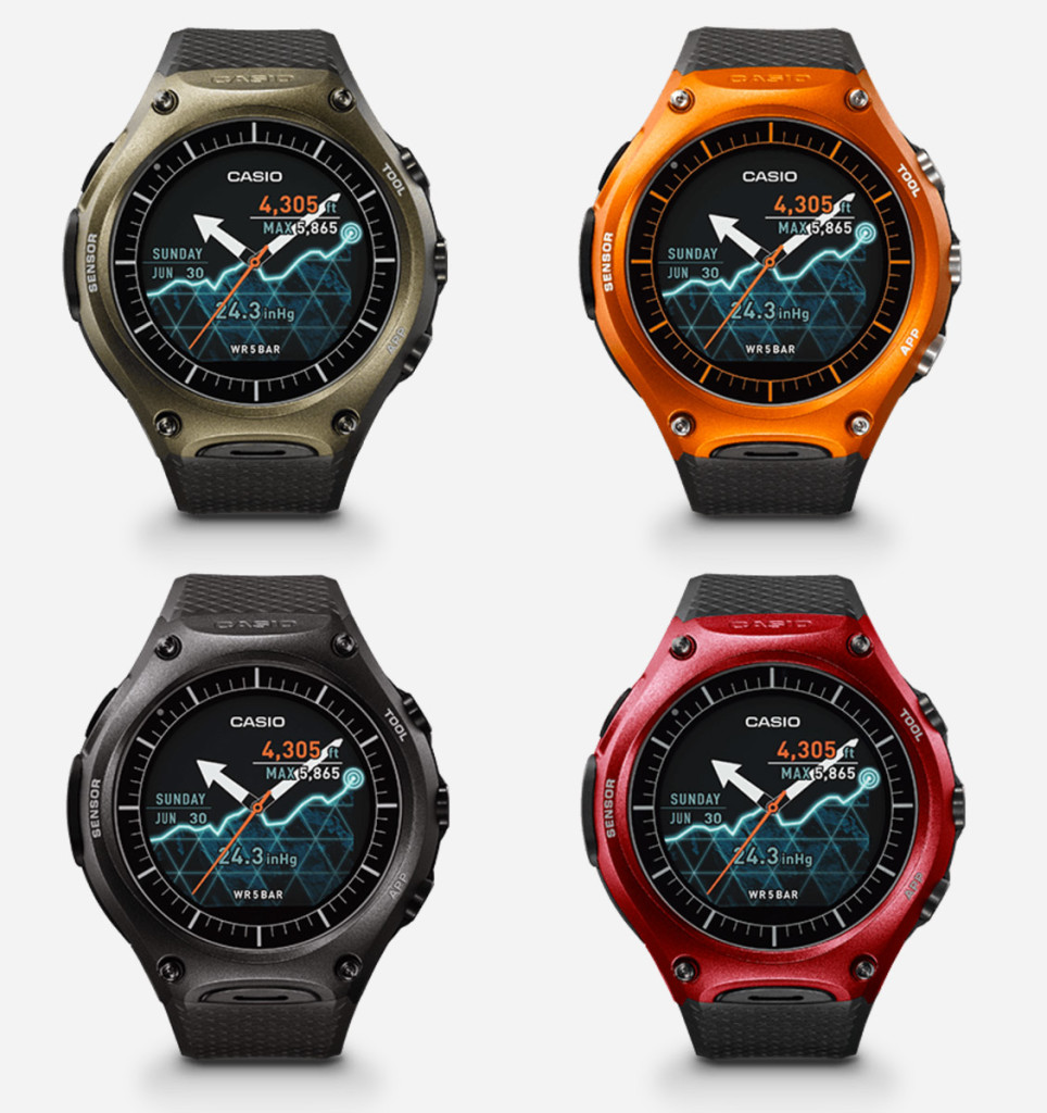 Buy USA Casio WSD-F10 Smartwatch Online International Shipping