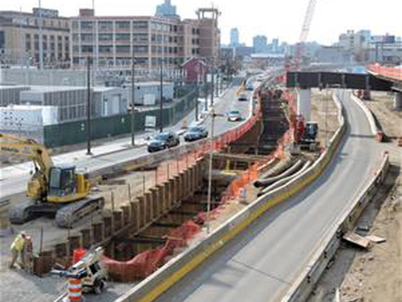 I-95 Elevated Roadway Construction