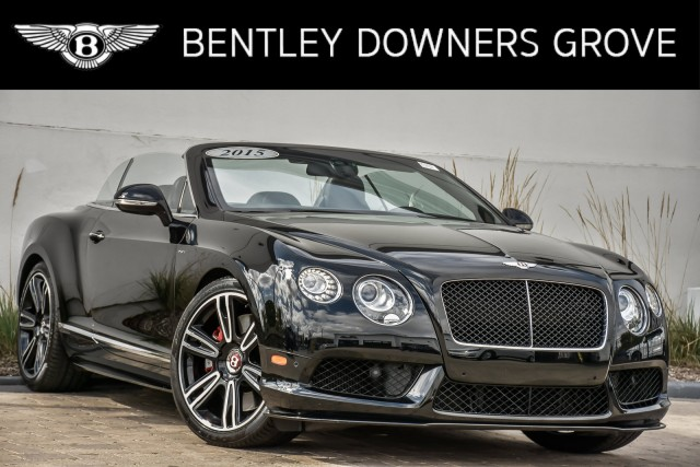 Pre-Owned 2015 Bentley Continental GT V8 S Mulliner Convertible